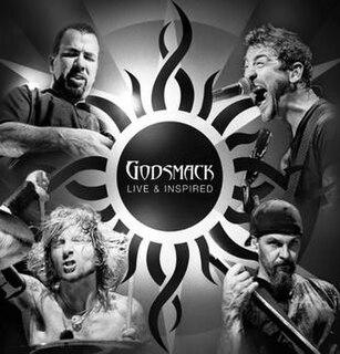 <i>Live & Inspired</i> 2012 live album by Godsmack