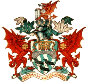 Lliw Valley - Coat of arms of the borough council