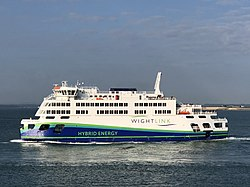 MV Victoria of Wight leaving Portsmouth 31st Aug 2018.jpeg
