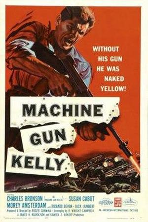 Machine-Gun Kelly (film) - Image: Machine Gun Kelly poster