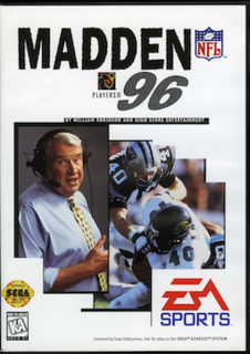 <i>Madden NFL 96</i> 1995 video game
