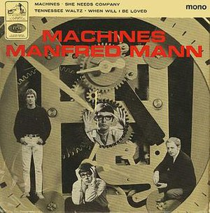 Machines (EP) - Image: Manfred Mann Machines