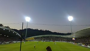 2012–13 NK Maribor season - The match between Maribor and Dudelange attracted a crowd of 12,025.
