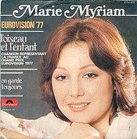 Marie Myriam - L'oiseau et l'enfant.jpg