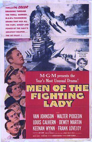 Men of the Fighting Lady - Theatrical poster