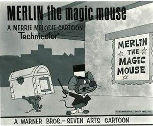 Merlin the Magic Mouse (film) - Lobby card