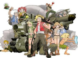 Metal Slug - Characters of Metal Slug.