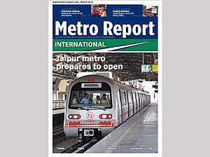 Metro Report International - March 2014 issue cover