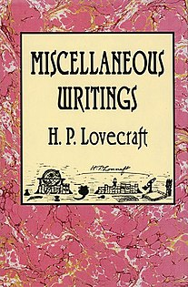 <i>Miscellaneous Writings</i> (Lovecraft)