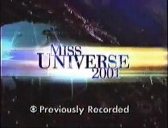 Miss Universe 2001 - Miss Universe 2001 Titlecard