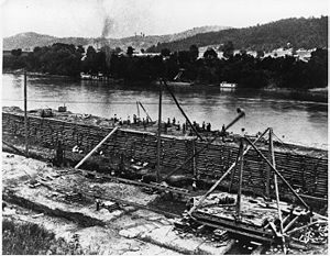 United States Army Corps of Engineers - Mississippi River Improvement, 1890.