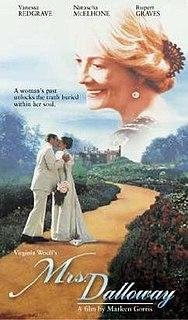 <i>Mrs Dalloway</i> (film) 1997 British film