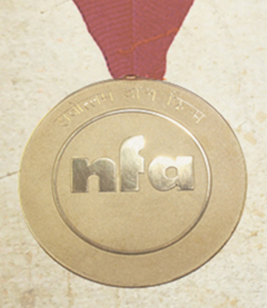 58th National Film Awards - National Film Award medal