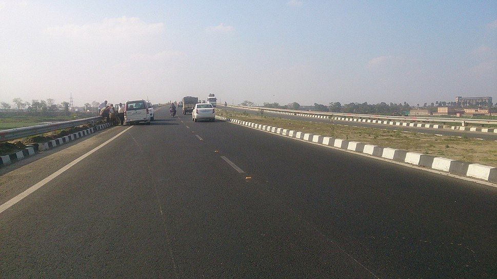National Highway 30 near Deedarganj in Patna