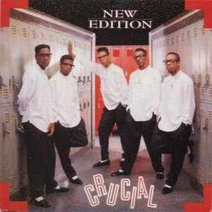 Crucial (song) - Image: New Edition Crucial cover