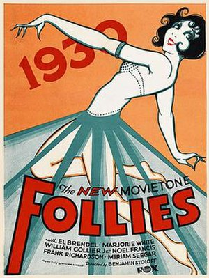 New Movietone Follies of 1930 - Theatrical release poster