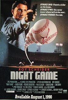 <i>Night Game</i> (film) 1989 film by Peter Masterson