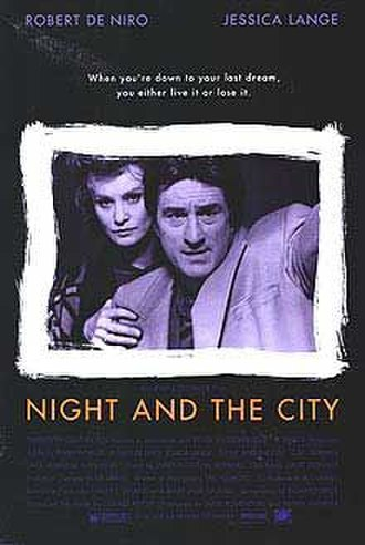 Night and the City (1992 film) - Theatrical release poster