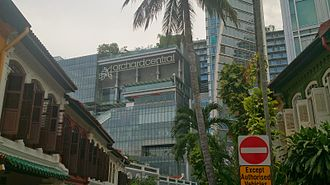 Orchard Central - Facade of Orchard Central