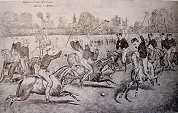 Desegnaĵo de la 1878-datita Varsity Match