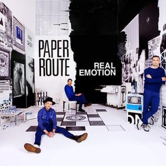 Real Emotion (album) - Image: Paper Route Real Emotion (official Album Cover)