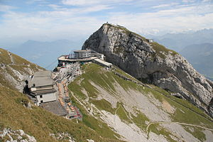 Pilatus (mountain) - Image: Pilatus Near Lucern From Above