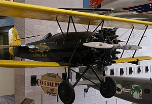 Pitcairn Aircraft Company - a PA-5 Mailwing in the Air and Space Museum