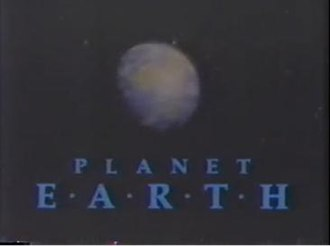 Planet Earth (1986 TV series) - Image: Planet Earth PBS 1986 title card