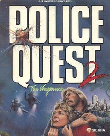 Police Quest II The Vengeance Front Cover.jpg