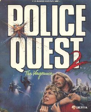 Police Quest II: The Vengeance - Cover art