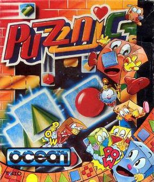 Puzznic - Cover art