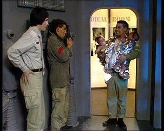 Future Echoes 2nd episode of the first season of Red Dwarf