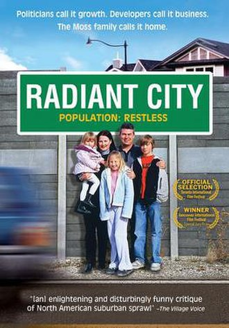 Radiant City - Theatrical poster