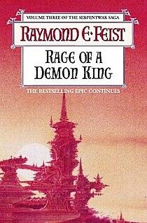 <i>Rage of a Demon King</i> novel by Raymond E. Feist