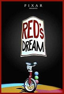 <i>Reds Dream</i> 1987 film directed by John Lasseter