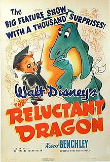 <i>The Reluctant Dragon</i> (1941 film) 1941 Disney film directed by Alfred L. Werker and Hamilton Luske