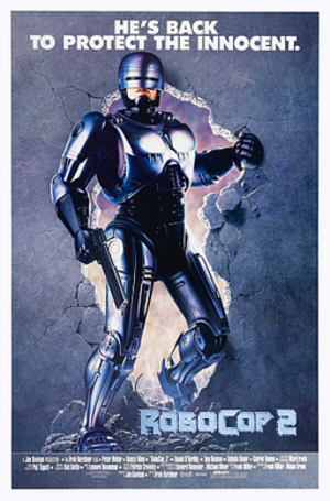 RoboCop 2 - Theatrical release poster