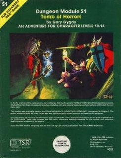 <i>Tomb of Horrors</i> book by Gary Gygax