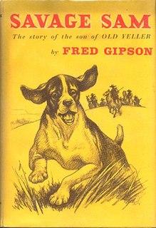 <i>Savage Sam</i> (novel) novel by Fred Gipson