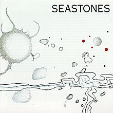 Abstract drawing suggestive of stones on the sea shore
