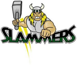 Woodstock Slammers - The Woodstock Slammers Main Logo - 2000-2008