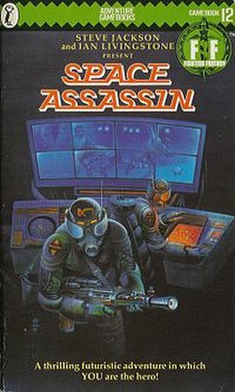 Space Assassin - Cover of the first edition