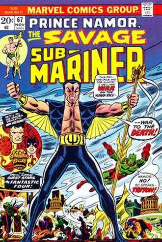 Namor - Image: Sub Mariner 67