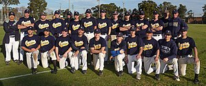 Sydney Uni Baseball Club - 2009 First Grade Squad