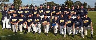 Sydney Uni Baseball Club - 2009 First Grade Squad