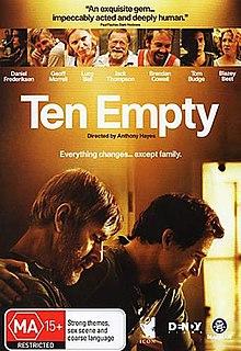 <i>Ten Empty</i> 2008 Australian film directed by Anthony Hayes