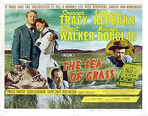 The Sea of Grass (film) - Lobby card