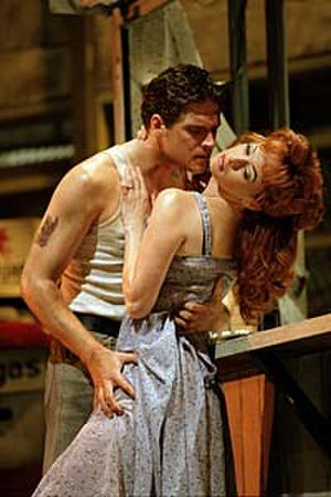 The Car Man (Bourne) - Alan Vincent and Saranne Curtin performing in The Car Man as Luca and Lana.