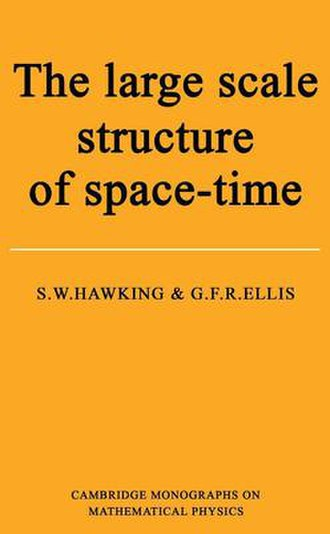 The Large Scale Structure of Space-Time - Cover of the first edition