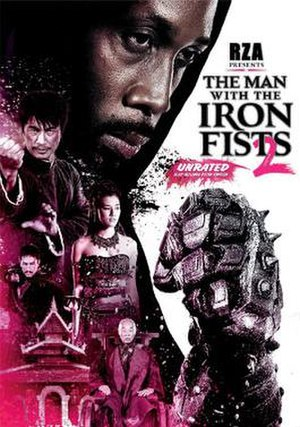 The Man with the Iron Fists 2 - DVD cover